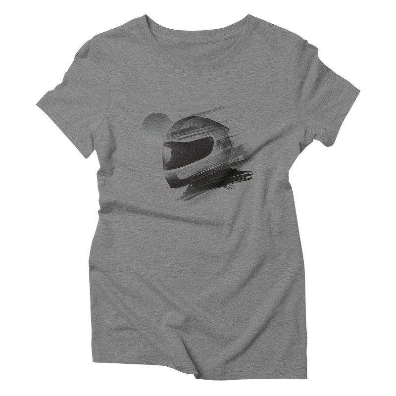Archeo Speed Women's Triblend T-Shirt by Dega Studios