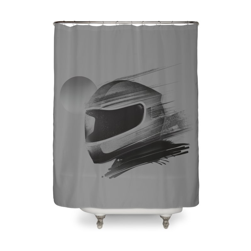 Archeo Speed Home Shower Curtain by Dega Studios