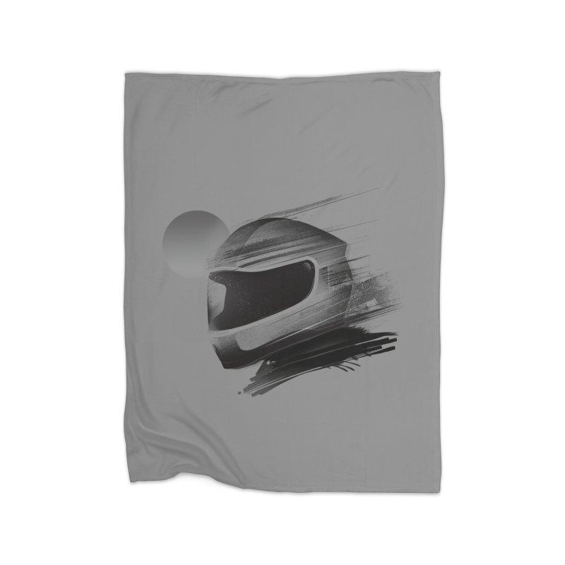 Archeo Speed Home Fleece Blanket by Dega Studios