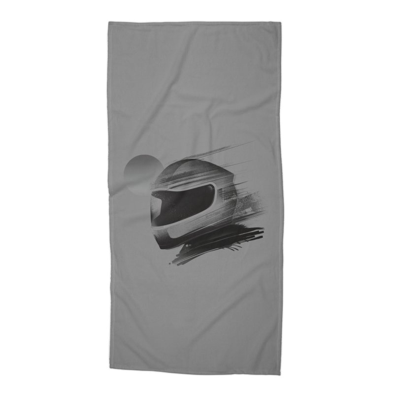 Archeo Speed Accessories Beach Towel by Dega Studios