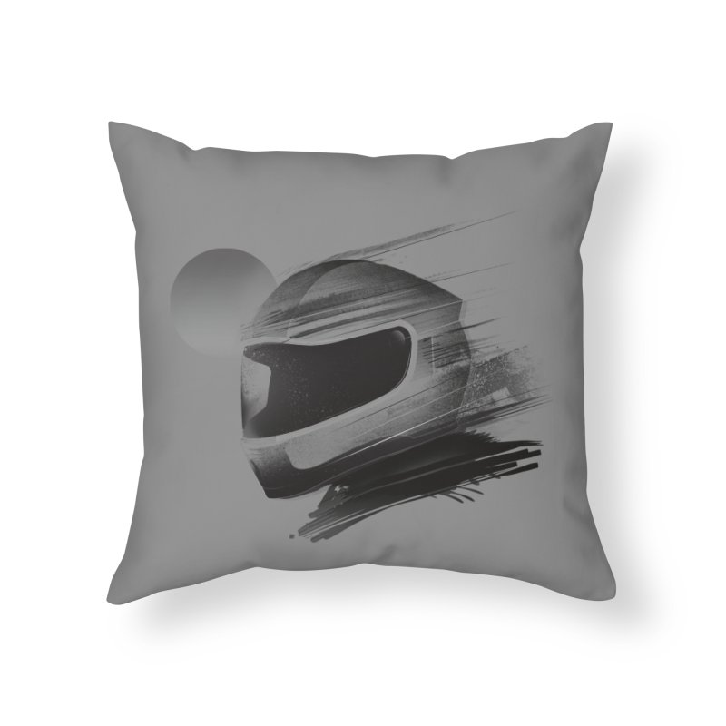 Archeo Speed Home Throw Pillow by Dega Studios