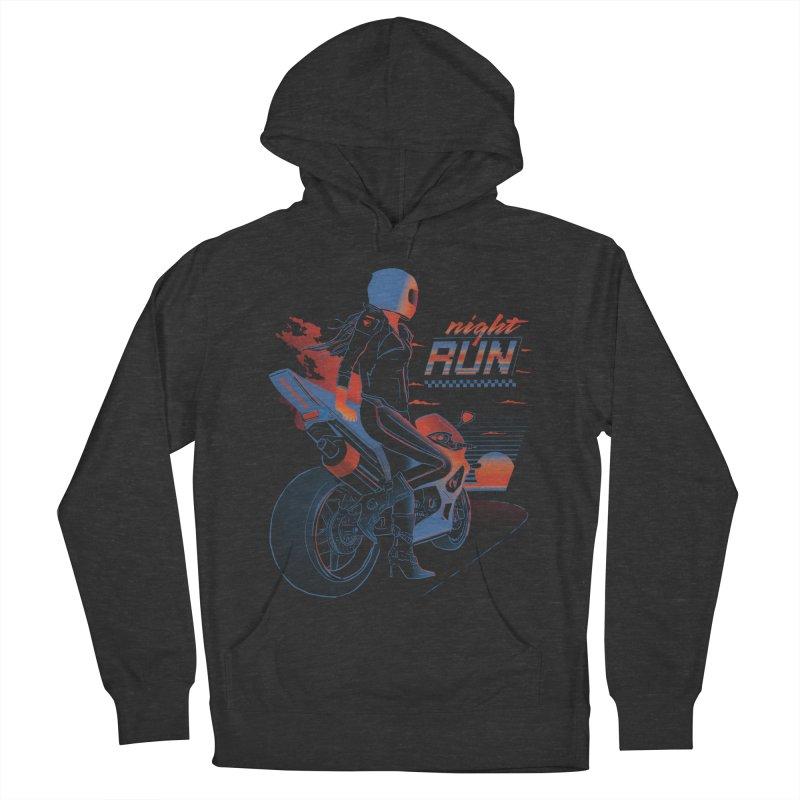 Night Run Men's Pullover Hoody by Dega Studios