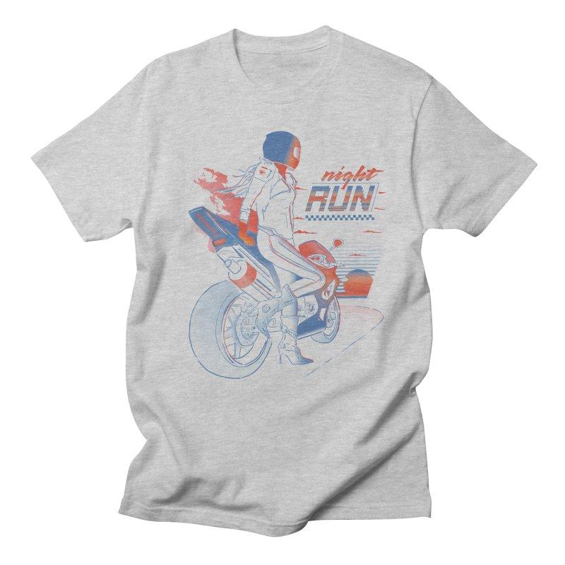 Night Run Women's Unisex T-Shirt by Dega Studios