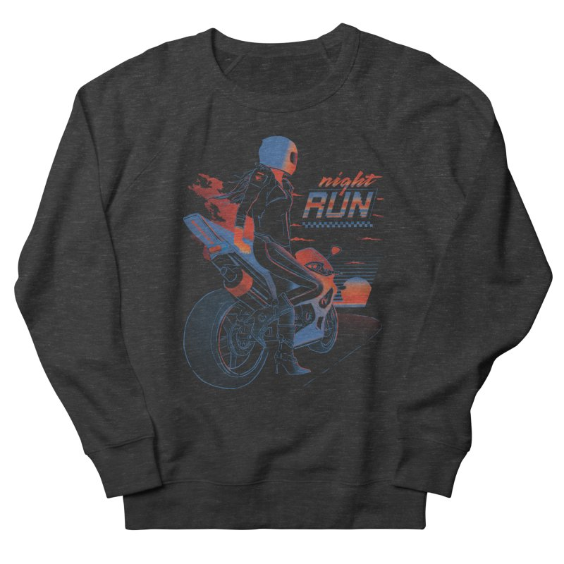 Night Run Women's Sweatshirt by Dega Studios