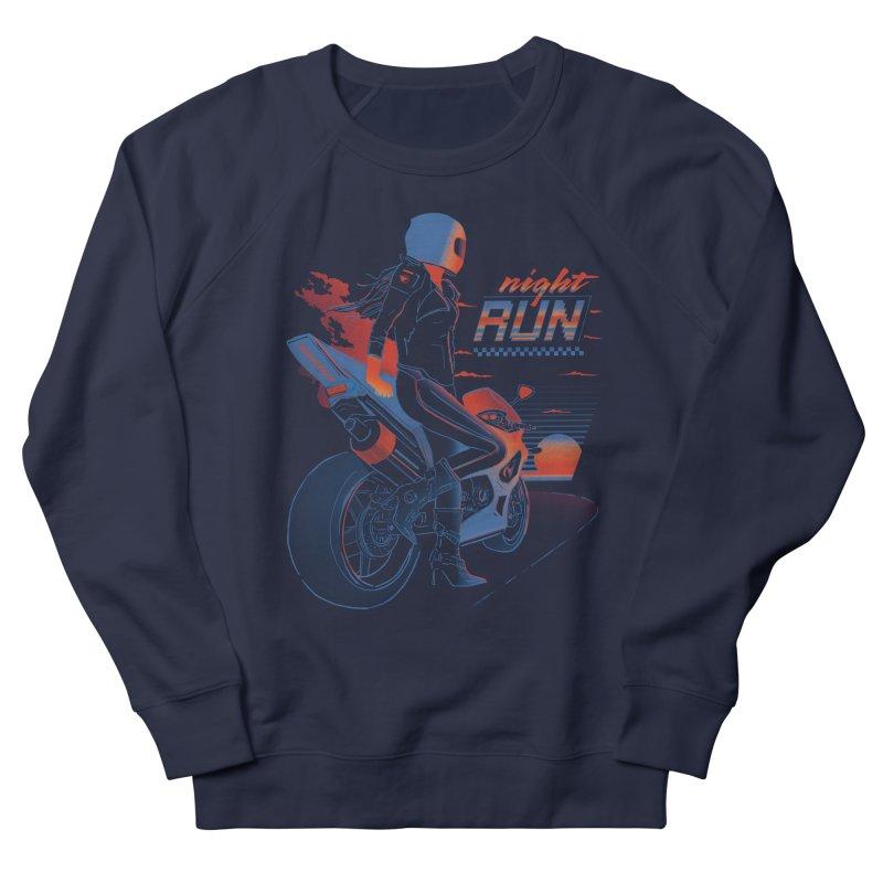 Night Run Men's Sweatshirt by Dega Studios