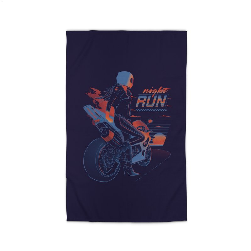 Night Run Home Rug by Dega Studios