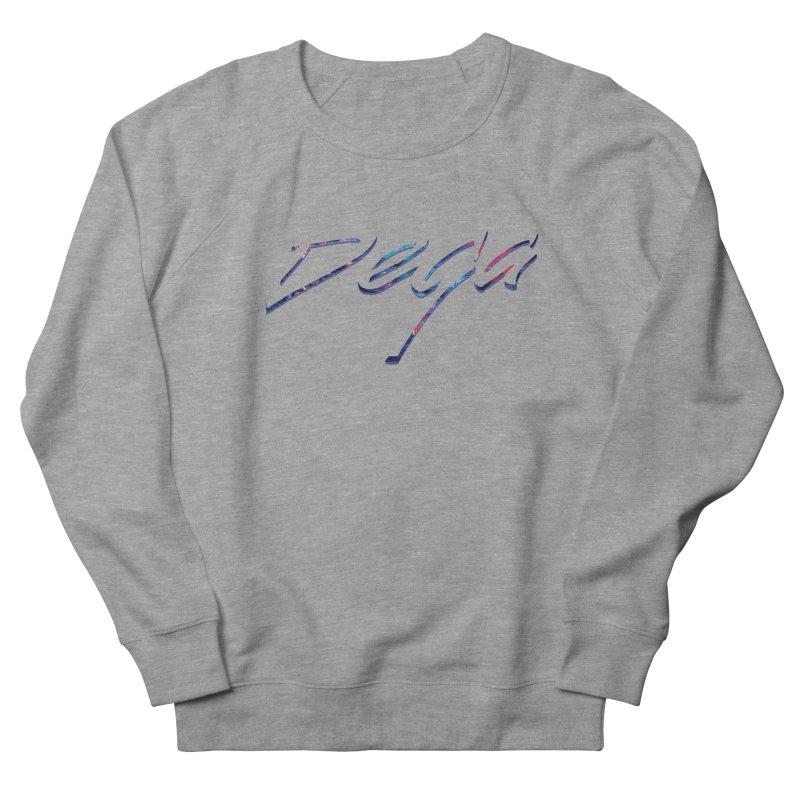 Dega Signature Tee Men's French Terry Sweatshirt by Dega Studios