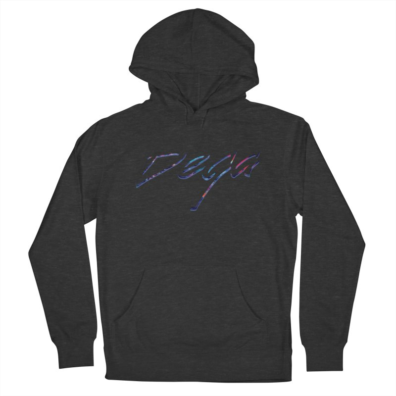 Dega Signature Tee Women's French Terry Pullover Hoody by Dega Studios