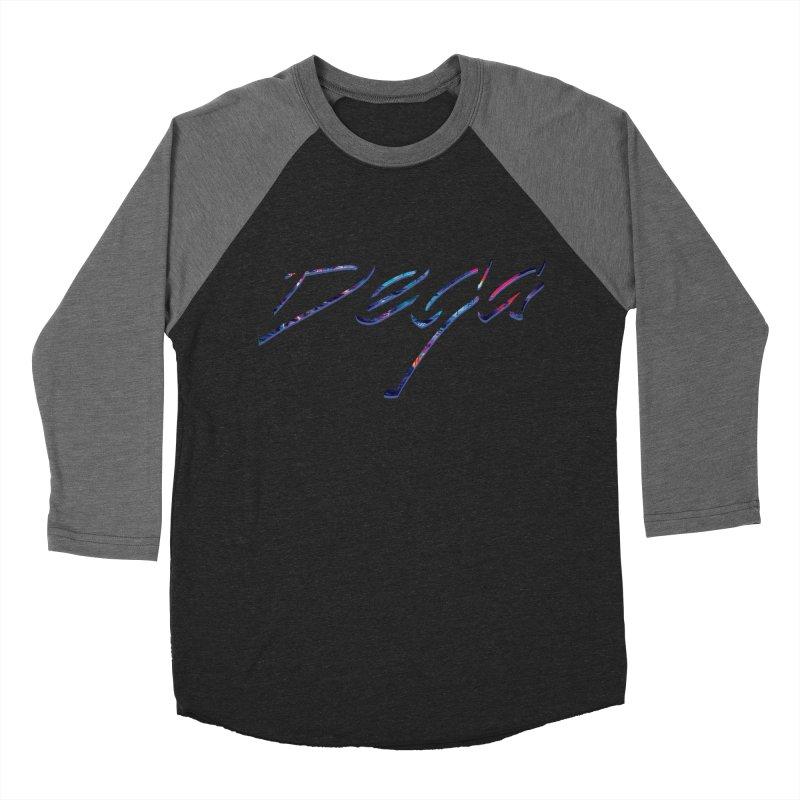 Dega Signature Tee Men's Baseball Triblend T-Shirt by Dega Studios