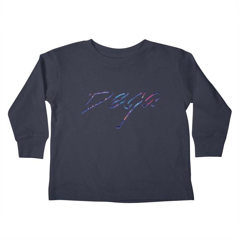 Dega Signature Tee Kids Toddler Longsleeve T-Shirt by Dega Studios