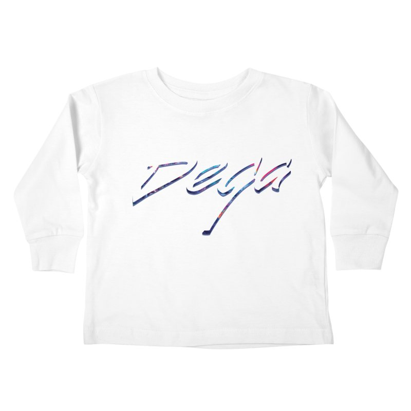Dega Signature Tee Kids Toddler Longsleeve T-Shirt by Dega Studios