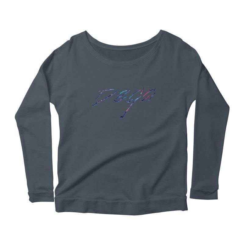 Dega Signature Tee Women's Scoop Neck Longsleeve T-Shirt by Dega Studios
