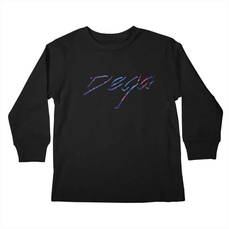 Dega Signature Tee Kids Longsleeve T-Shirt by Dega Studios
