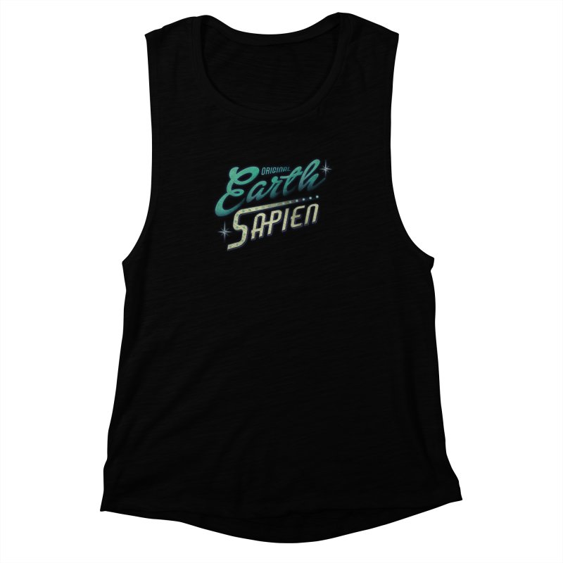 Earth Sapien Women's Muscle Tank by Dega Studios