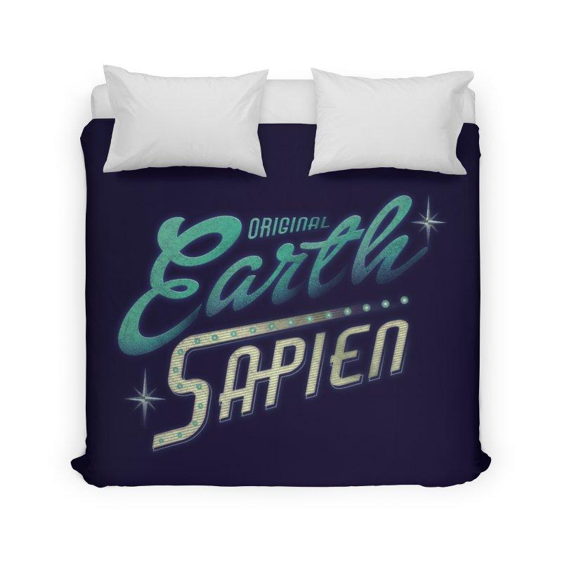 Earth Sapien Home Duvet by Dega Studios
