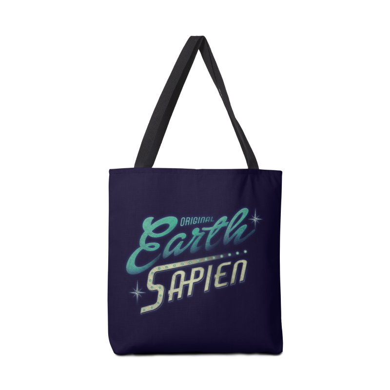 Earth Sapien Accessories Bag by Dega Studios