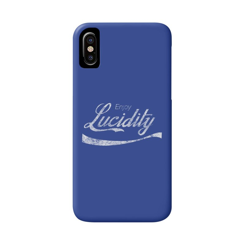 Enjoy Lucidity Accessories Phone Case by Dega Studios