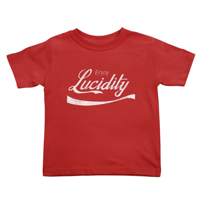 Enjoy Lucidity Kids Toddler T-Shirt by Dega Studios