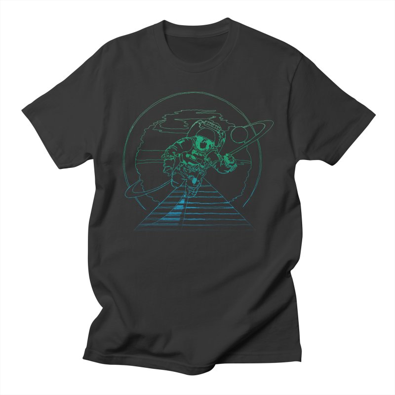 Coming Home in Men's Regular T-Shirt Smoke by Dega Studios