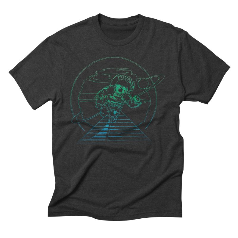 Coming Home Men's Triblend T-Shirt by Dega Studios