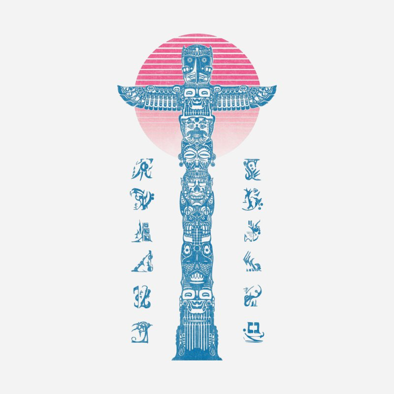 Totem Reserrection Men's T-Shirt by Dega Studios