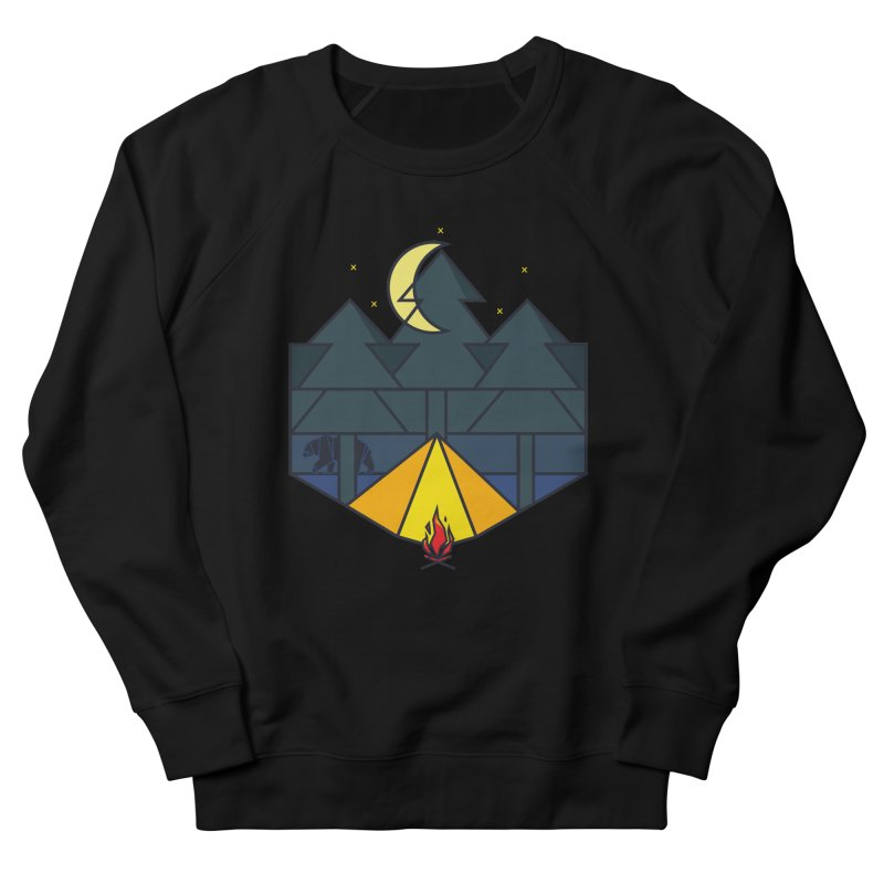Night camp fire Men's Sweatshirt by delcore's Artist Shop