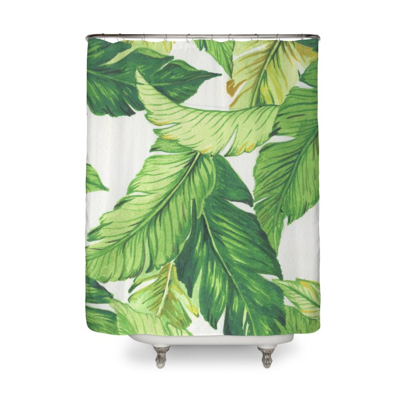 banana jungle Home Shower Curtain by delcore's Artist Shop
