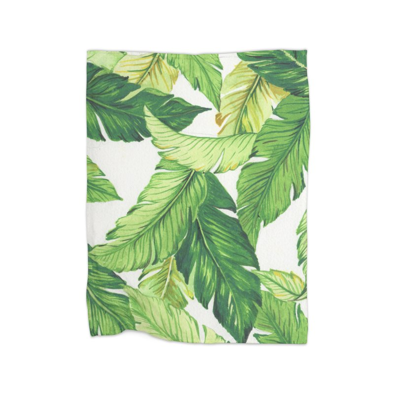 banana jungle Home Blanket by delcore's Artist Shop
