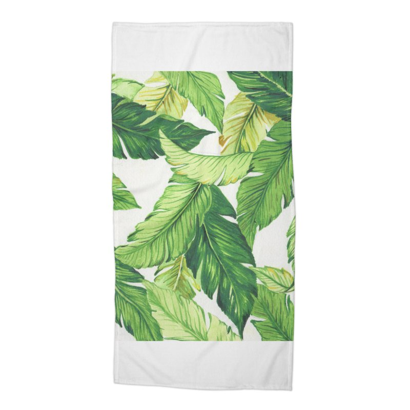 banana jungle Accessories Beach Towel by delcore's Artist Shop