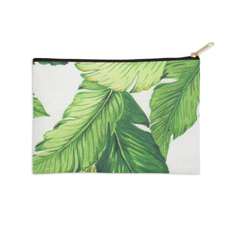 banana jungle Accessories Zip Pouch by delcore's Artist Shop