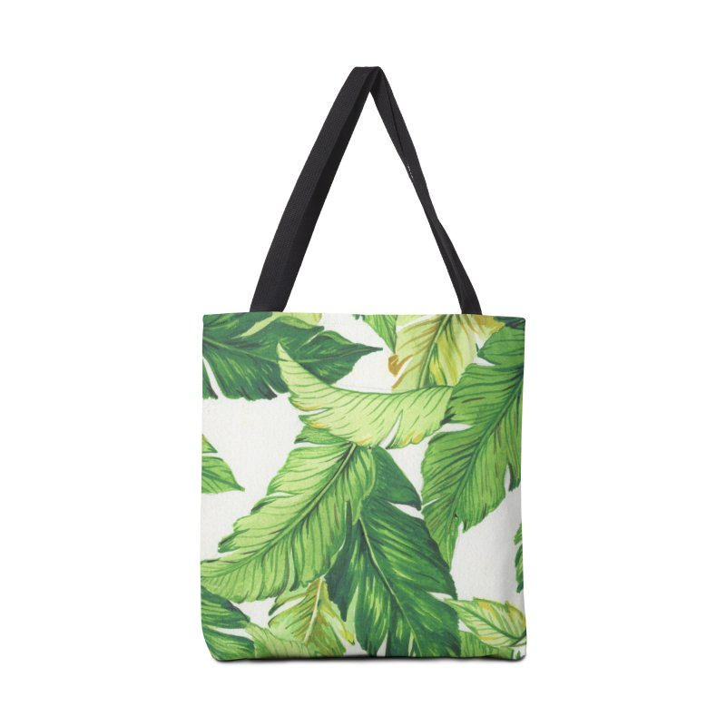 banana jungle Accessories Bag by delcore's Artist Shop
