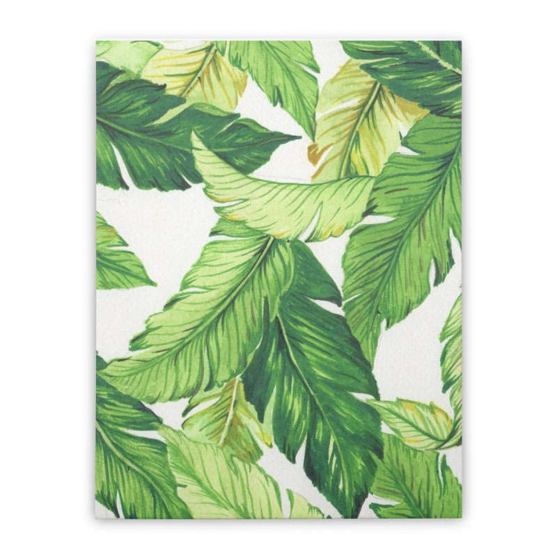 banana jungle Home Stretched Canvas by delcore's Artist Shop