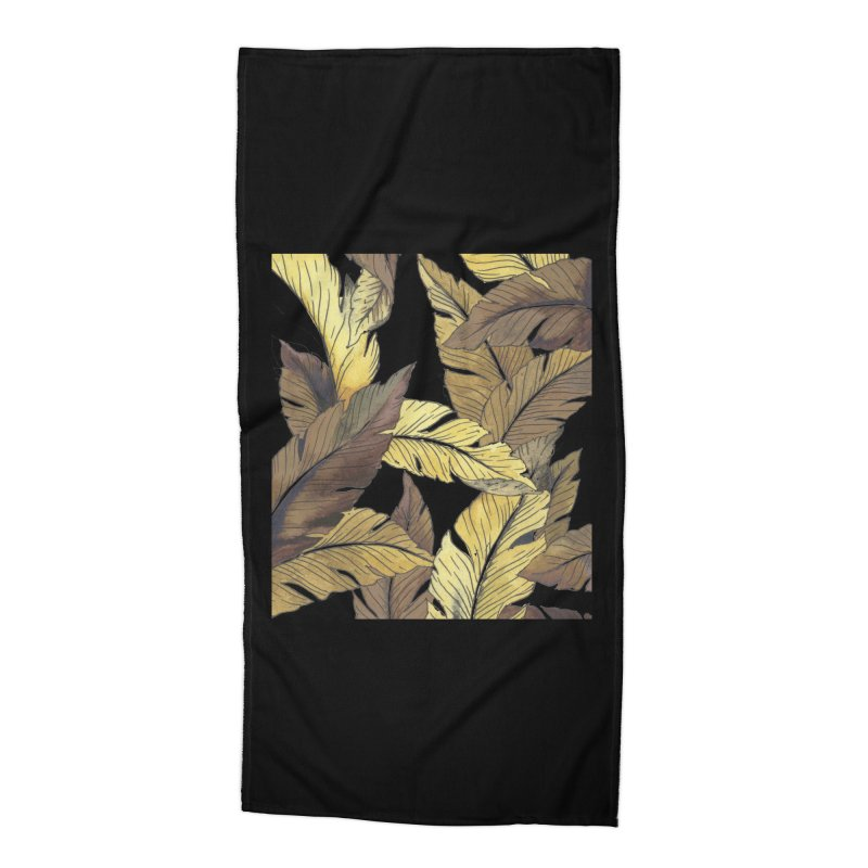 banana jungle ii Accessories Beach Towel by delcore's Artist Shop