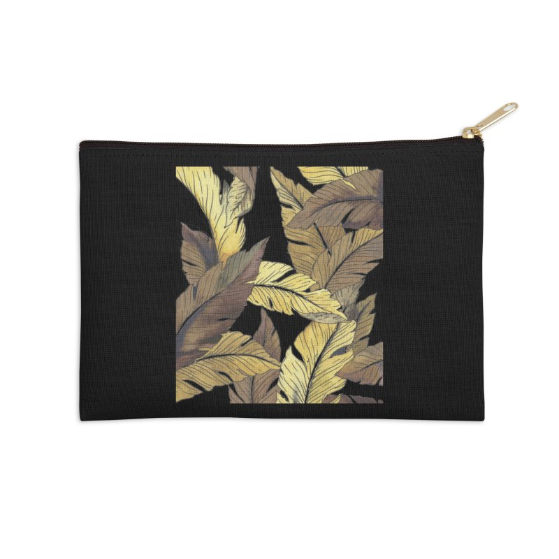 banana jungle ii Accessories Zip Pouch by delcore's Artist Shop