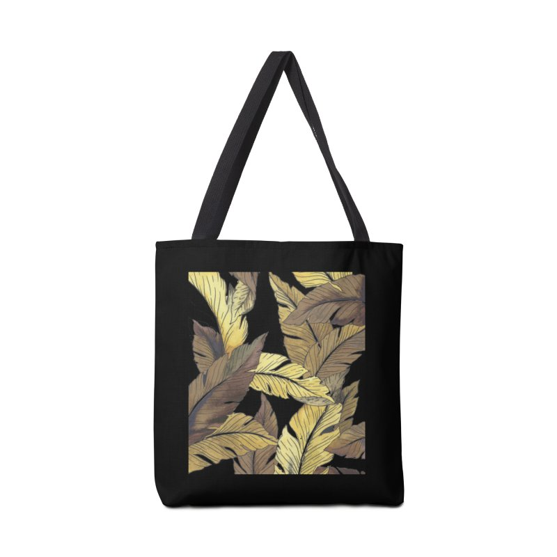 banana jungle ii Accessories Bag by delcore's Artist Shop