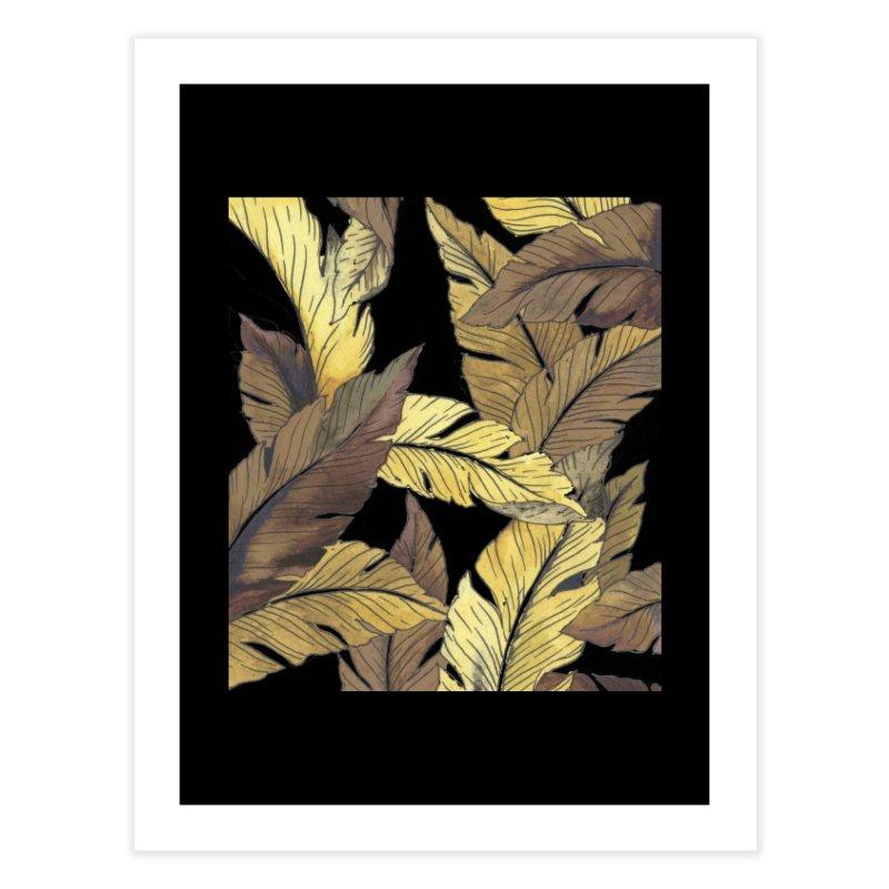 banana jungle ii Home Fine Art Print by delcore's Artist Shop