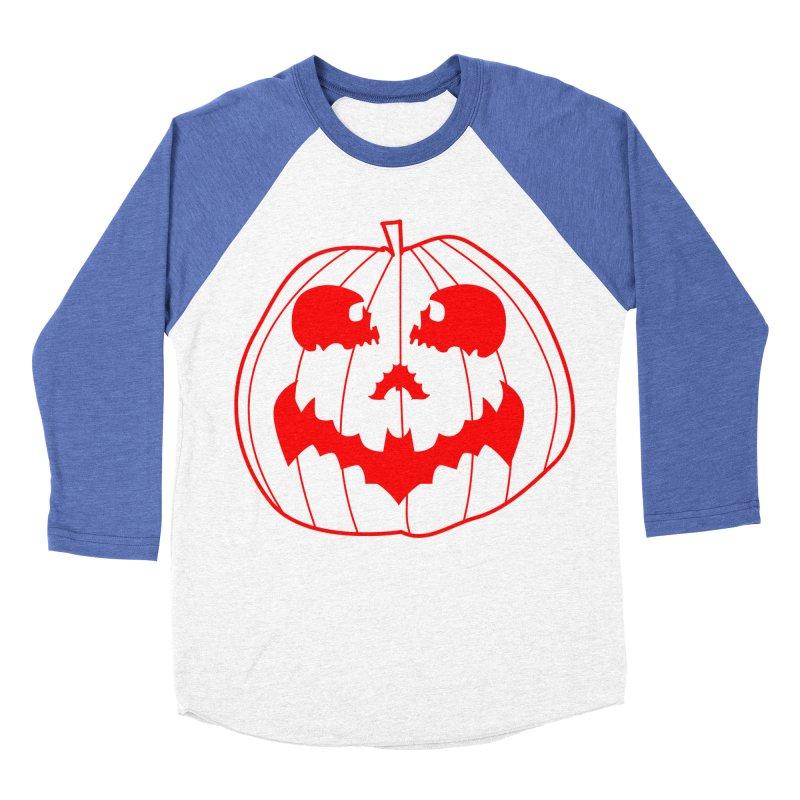 happyholloween Women's Baseball Triblend T-Shirt by delcore's Artist Shop