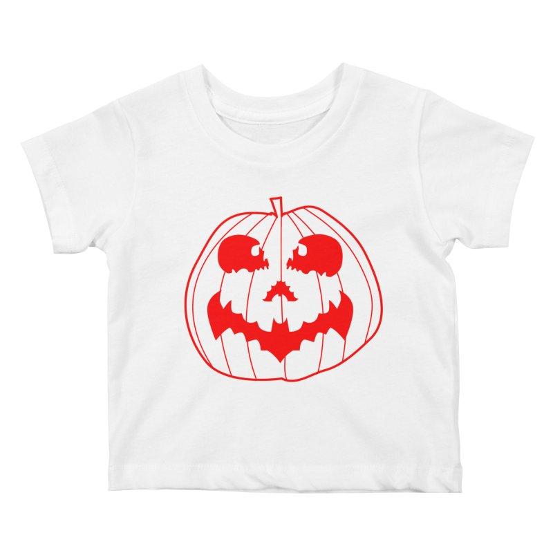 happyholloween Kids Baby T-Shirt by delcore's Artist Shop