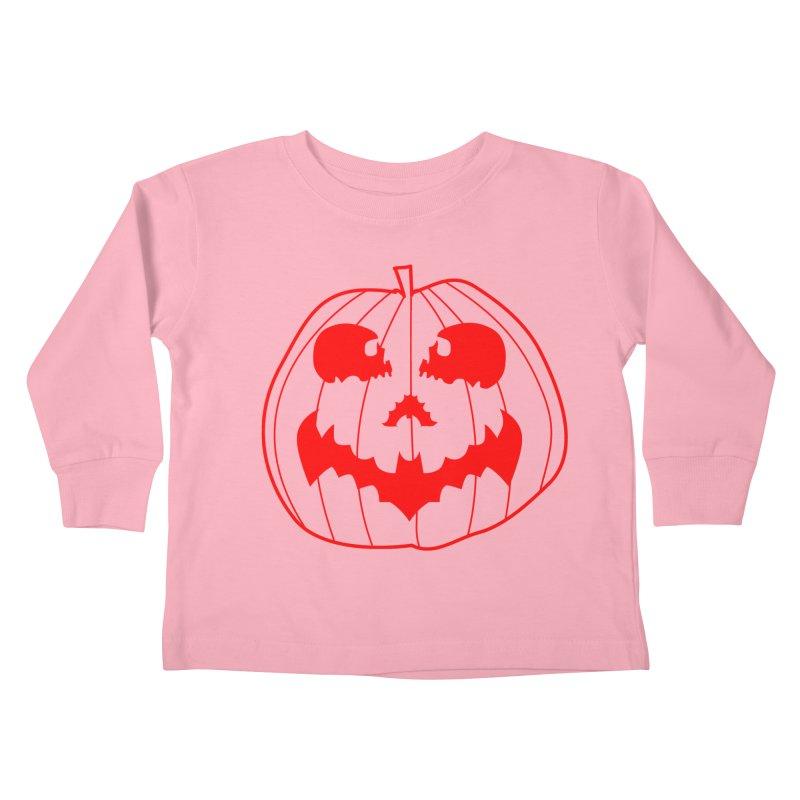 happyholloween Kids Toddler Longsleeve T-Shirt by delcore's Artist Shop