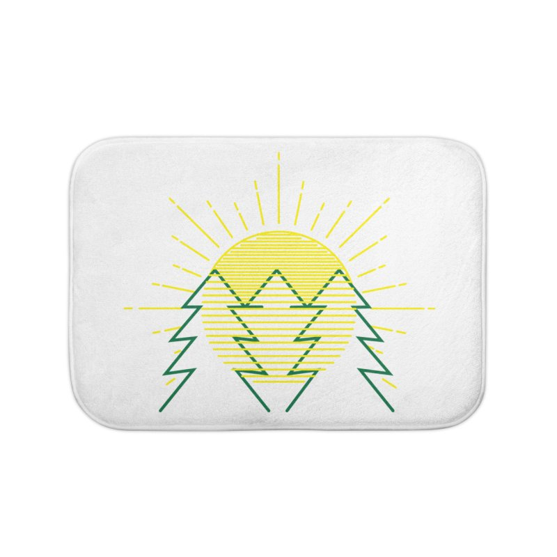 Sunny Day Home Bath Mat by delcored