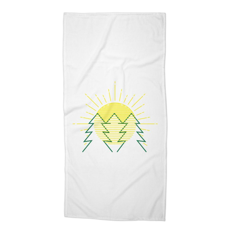 Sunny Day Accessories Beach Towel by delcored