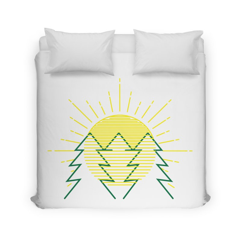 Sunny Day Home Duvet by delcored