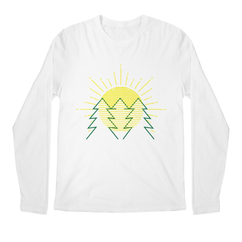 Sunny Day Men's Longsleeve T-Shirt by delcored