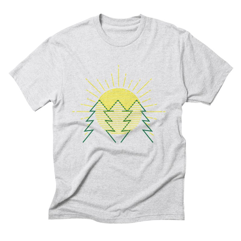 Sunny Day Men's Triblend T-Shirt by delcored