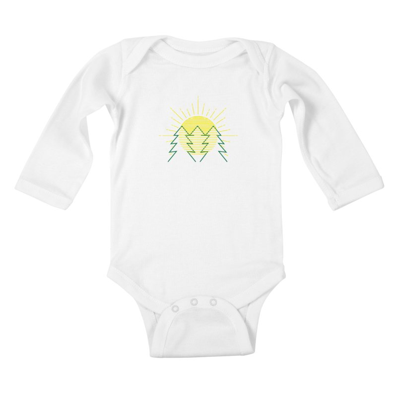 Sunny Day Kids Baby Longsleeve Bodysuit by delcored