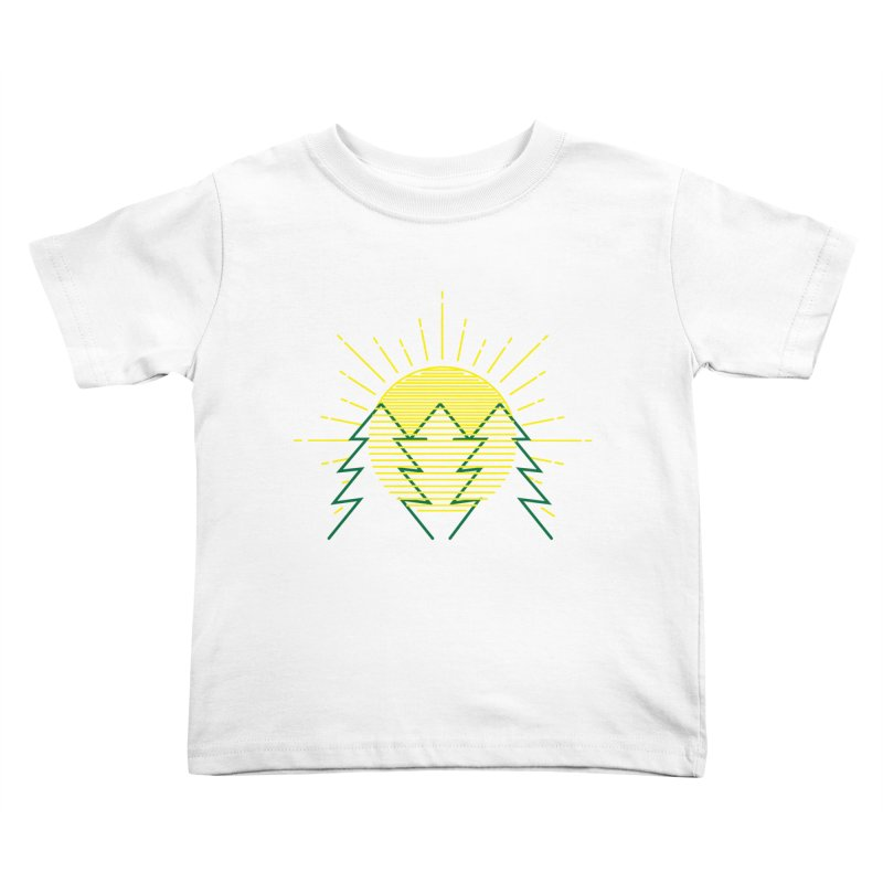 Sunny Day Kids Toddler T-Shirt by delcored