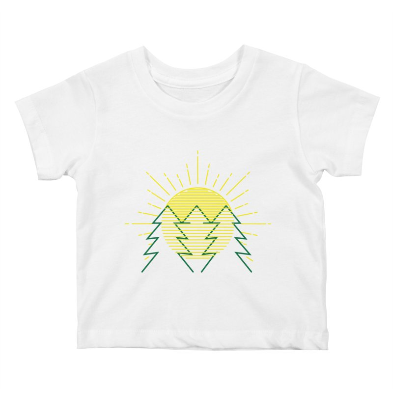 Sunny Day Kids Baby T-Shirt by delcored