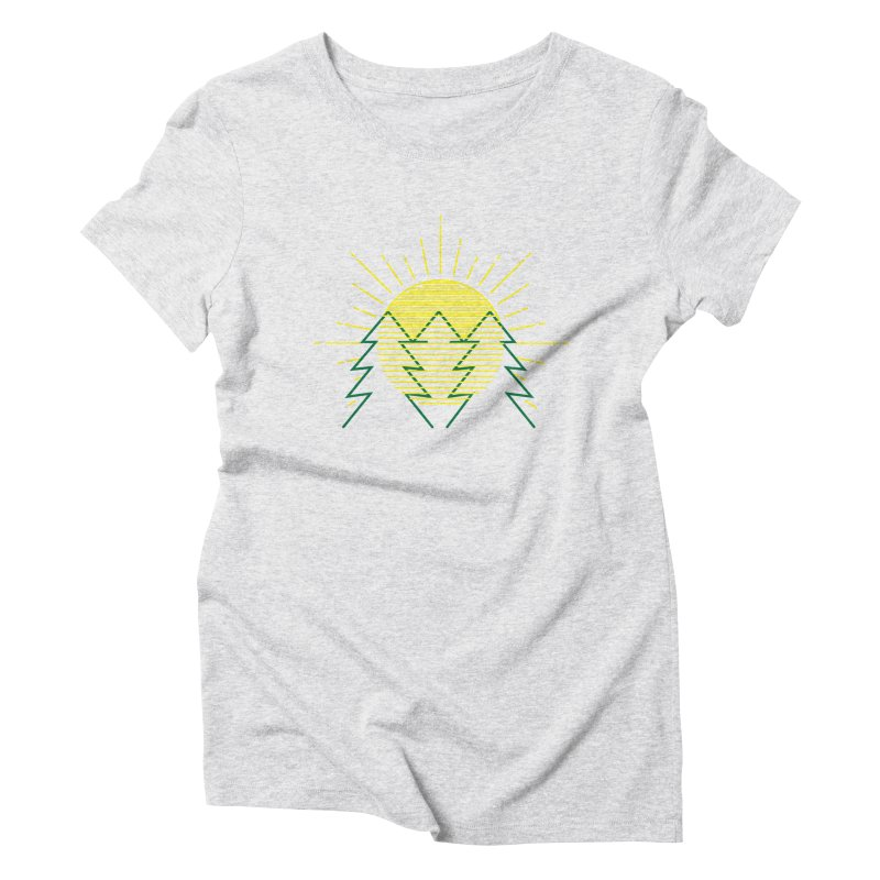 Sunny Day Women's Triblend T-Shirt by delcored
