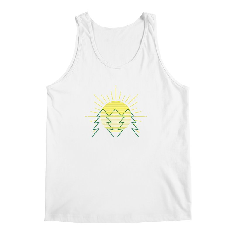 Sunny Day Men's Tank by delcored