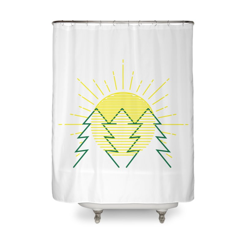 Sunny Day Home Shower Curtain by delcored